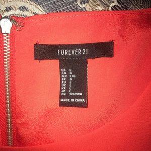 Forever 21 Loose Dress Orange